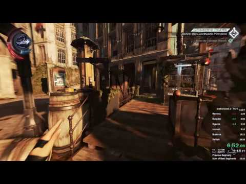 Dishonored 2 - Emily Any% Speedrun in 23:58 IGT