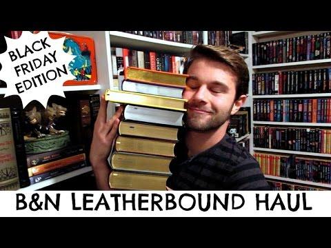 B&N LEATHERBOUND BOOK HAUL - Black Friday Edition