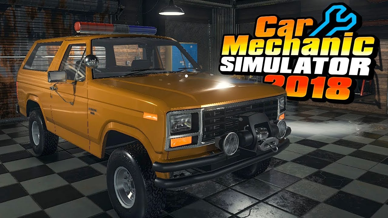 1983 Ford Bronco Coyote Engine Swap | We Got Swaptions Part 1 | Car  Mechanic Simulator 2018