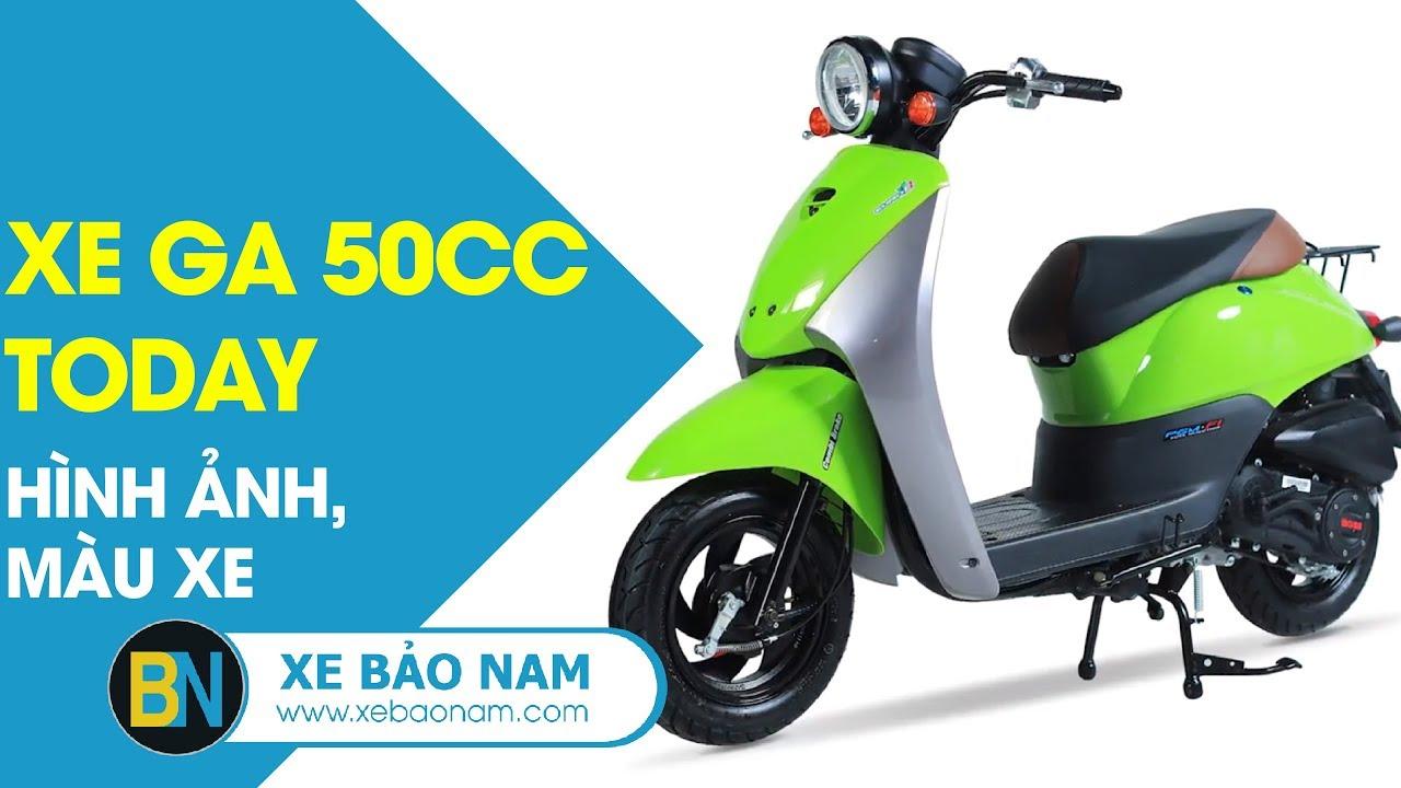 Xe tay ga 50cc Today không cần bằng lái 16+ ► Giành cho Học sinh 2018 giá 14.800.000đ