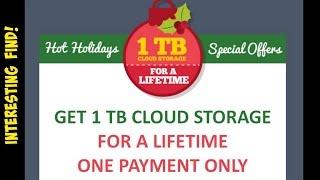 [3.47 MB] Interesting Find : 1TB of LIFETIME CLOUD STORAGE