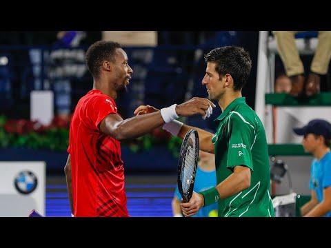 Highlights: Djokovic dissolves Monfils resolve in thriller
