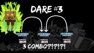 3 COMBO BAR!??! OMAGA [ DARE #3 ] l ( Roblox Parkour )