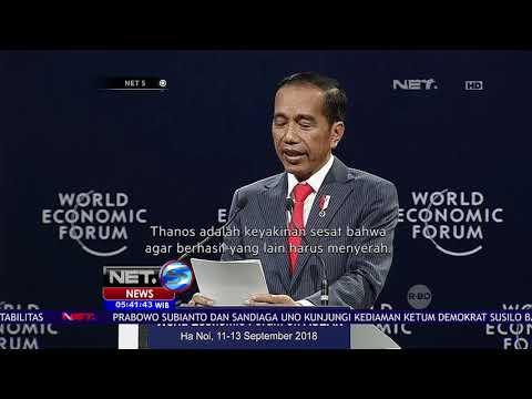 Presiden Jokowi Mengasosiasikan Tokoh Thanos Untuk Menggambarkan Kondisi Perekonomian Dunia - NET 5