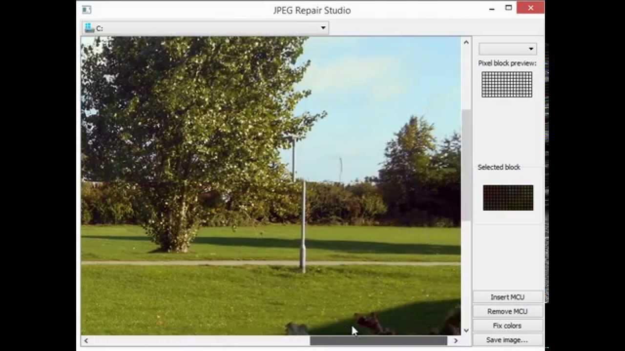 How to fix corrupt JPEG files - JPEG Repair Shop (Freeware) - YouTube