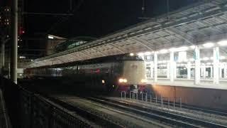 JR東海、西日本285系 寝台特急サンライズ瀬戸 東京行き 高松発車