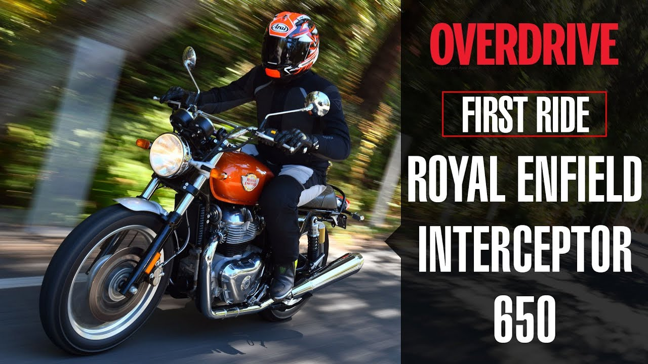 Royal Enfield Interceptor 650 Quick Ride Review Overdrive Youtube