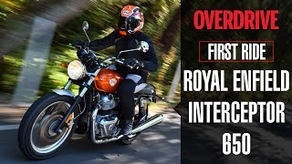 Royal Enfield Interceptor 650 Quick Ride Review  | OVERDRIVE