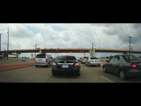 Driving from Grapevine, Texas to the Rental Car Center at DFW Airport