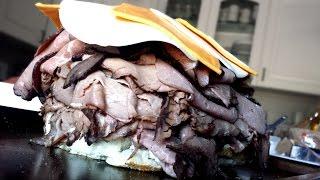 Biggest Roast Beef Sandwich Ever!