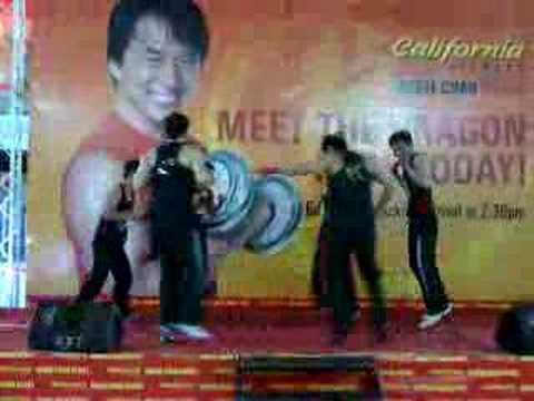 SUNWAY California Fitness Jackie Chan Sport Club Demo thumbnail