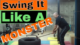 How to Swing a Sledge Hammer Like a Monster