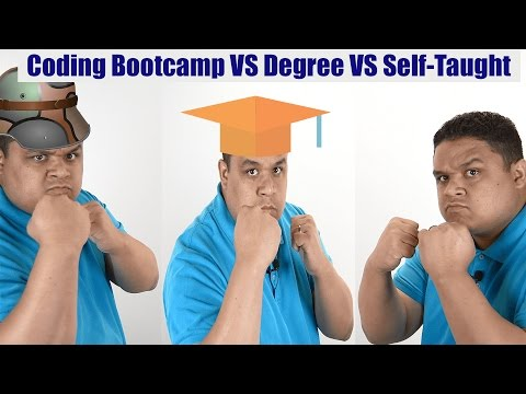 Coding Bootcamp vs Degree vs Self-Taught (Best Method To Become A Developer?)