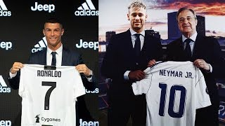 5 Players Who Can Replace CRISTIANO RONALDO at REAL MADRID - Transfer News