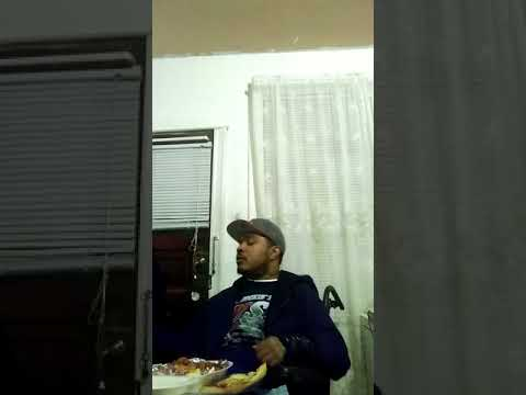 Clarence Brown Quadriplegic C4 C5(Part 1)Eating..
