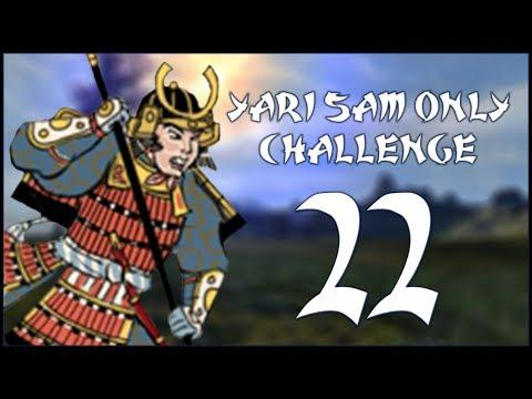 TEAM EFFORT - Date (Legendary - Challenge: Yari Samurai Only) - Total War: Shogun 2 - Ep.22!
