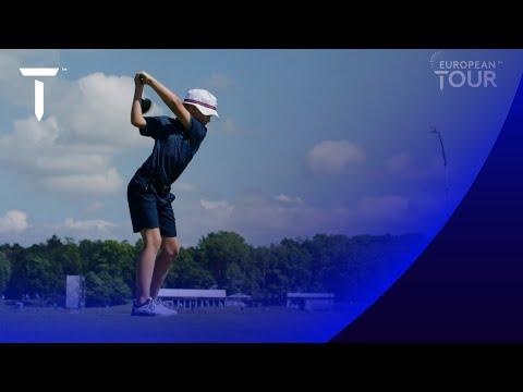 Henrik Stenson 11 year-old son amazing golf swing