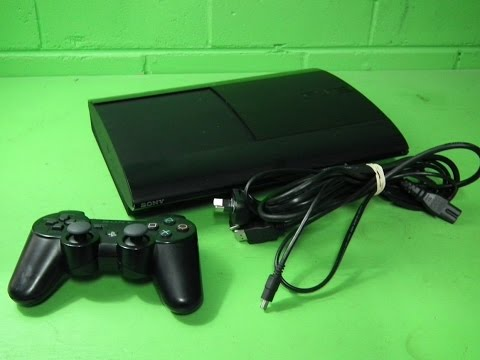 40499 - Sony PlayStation 3 Super Slim Charcoal Black 500 GB Console. 100% A1. Warranty
