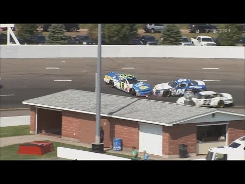 NASCAR Pinty's Series 2017. Riverside International Speedway. Alex Tagliani & Armani Williams Spins