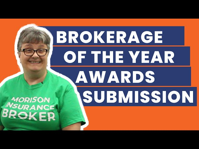 Morison Insurance - 2019 IBAO Broker Of The Year Video Submission