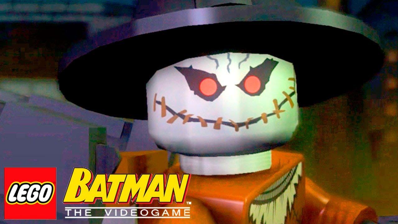 Chegou A Sua Vez Espantalho Lego Batman The Videogame 13 Youtube
