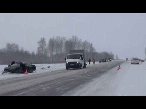 ДТП на трассе Екатеринбург-Шадринск-Курган