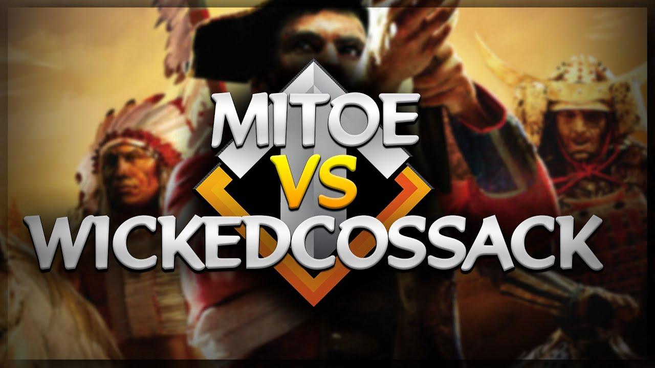 ⚔️🔥 AoE3 NWC QUALIFICATION SERIES: Mitoe vs WickedCossack