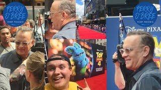 Toy Story 4 Premiere London Tom Hanks