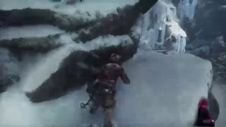 Rise of the tombraider PS4 gameplay