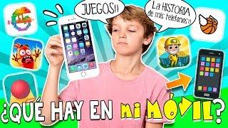 📱 La HISTORIA de los 4 MÓVILES de HUGO y por qué NO TIENE un IPHONE X + ¿Qué hay en mi MÓVIL? 🤔