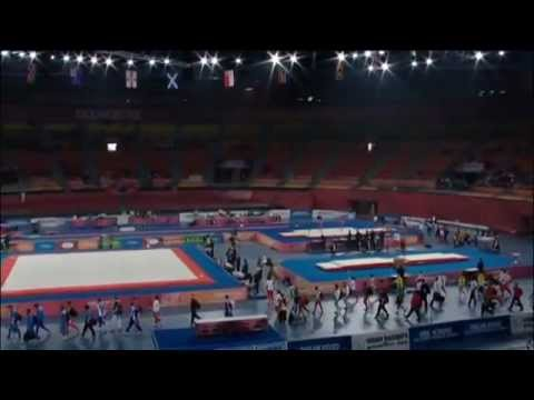 2010 Commonwealth Games Men's All Around Final Part 1