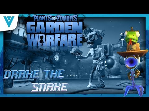 Plants Vs Zombies Garden Warfare 2 Legendary Hats - Drake The Snake
