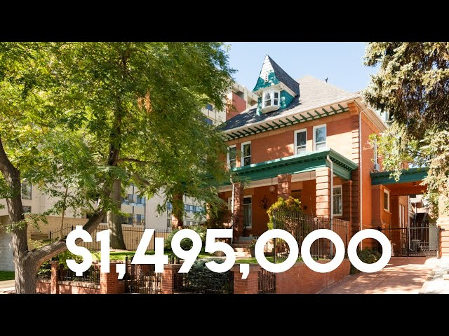 Inside a $1.5million Historic Mansion in Capitol Hill | Denver, Colorado | w/ #denverdyllan