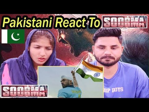 Pakistani Reacts To | Soorma | Official Trailer | Diljit Dosanjh | Taapsee Pannu | Angad Bedi