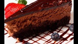 РЕЦЕПТ Чизкейка Шоколадное наслаждение, как приготовить десерт.