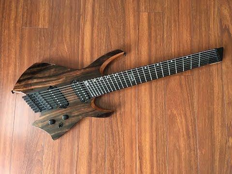 UNBIASED GEAR REVIEW - Ormsby Goliath GTR 8-string Run 4 Headless Guitar