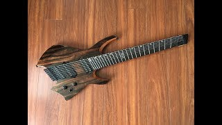 Baixar UNBIASED GEAR REVIEW - Ormsby Goliath GTR 8-string Run 4 Headless Guitar