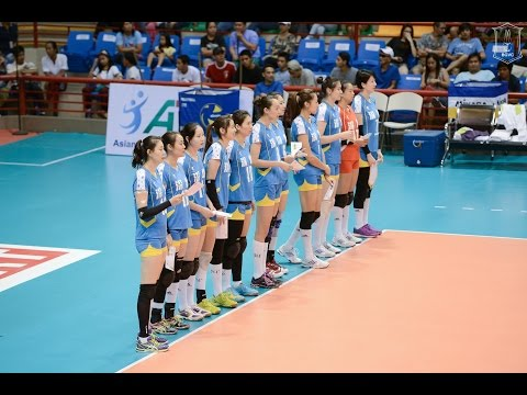 (No commentator) China vs Japan - Final - 2016 Asian Women's Club Volleyball Championship