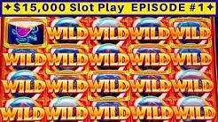 Ocean Magic Grand Slot Machine Max Bet Bonus - BIG WIN | EPISODE-1| Live Slot Play w/NG Slot