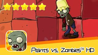 Plants vs  Zombies™ HD ROOF Level 08 Day1 Walkthrough The zombies are coming! Recommend index five s