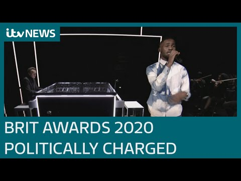 Brit Awards 2020: Who won what as rapper Dave calls Boris Johnson a 'real racist' | ITV News