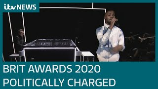 Brit Awards 2020: Who won what as rapper Dave calls Boris Johnson a 'real racist'   ITV News