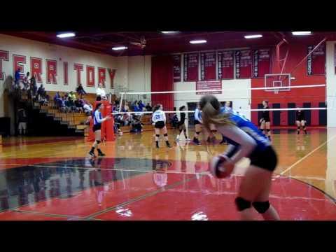 9-28-16 Lyman vs Fitch Volleyball