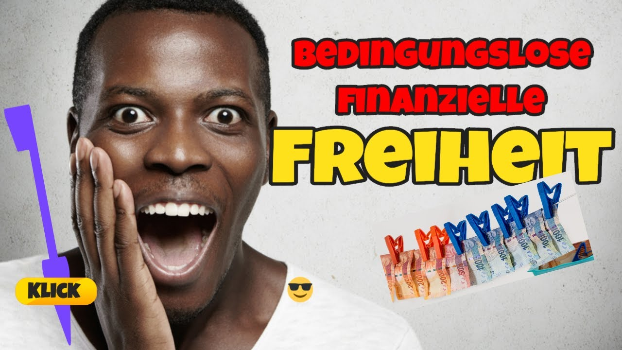 Bedingungslose finanzielle Freiheit - Das Buch - YouTube