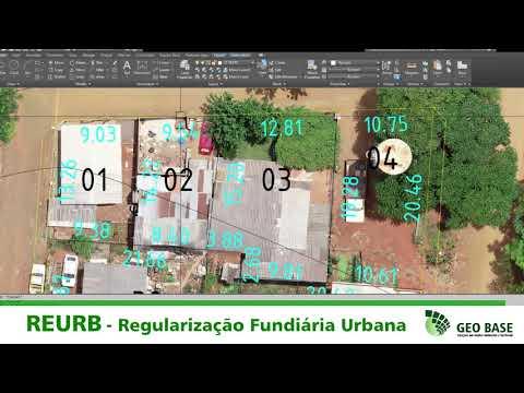 REURB -Regularização Fundiária Urbana Geo Base Ijuí