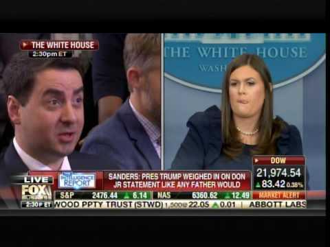 BOOM! Sarah Huckabee Sanders UNLOADS On Liberal Reporters Over Russia Witch Hunt