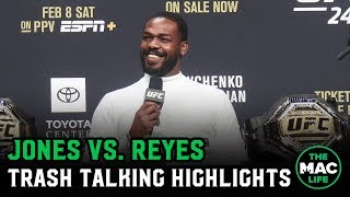 Jon Jones tells Dominick Reyes