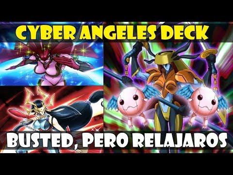 CYBER ANGELES DECK   P2W VS F2P? DEJAROS DE TONTERÍAS - DUEL LINKS