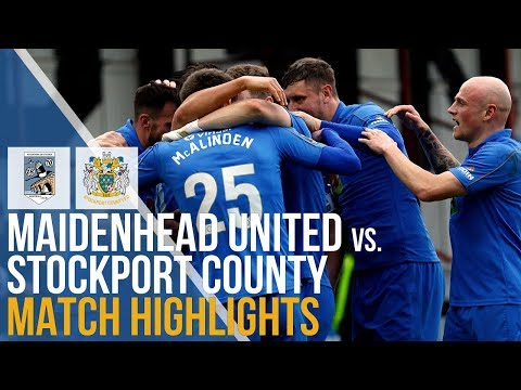 Maidenhead Stockport Goals And Highlights