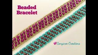 Beaded Netted Bracelet 👍🏻